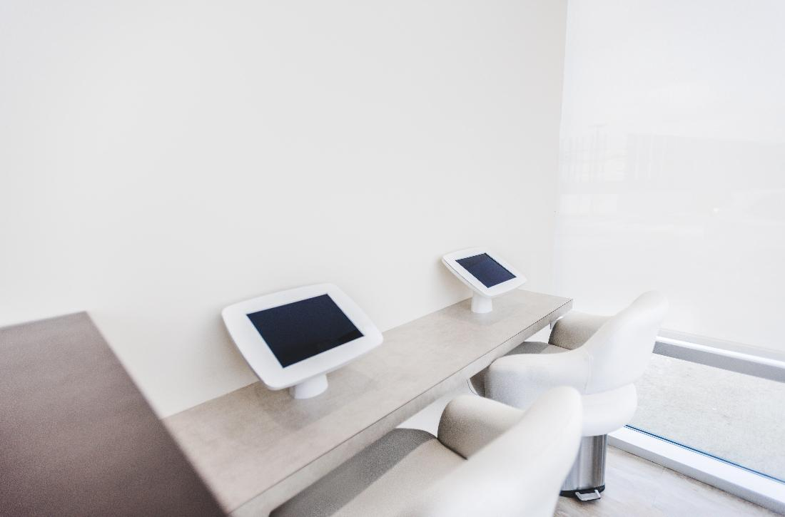 iPads in office | Orchards Dental